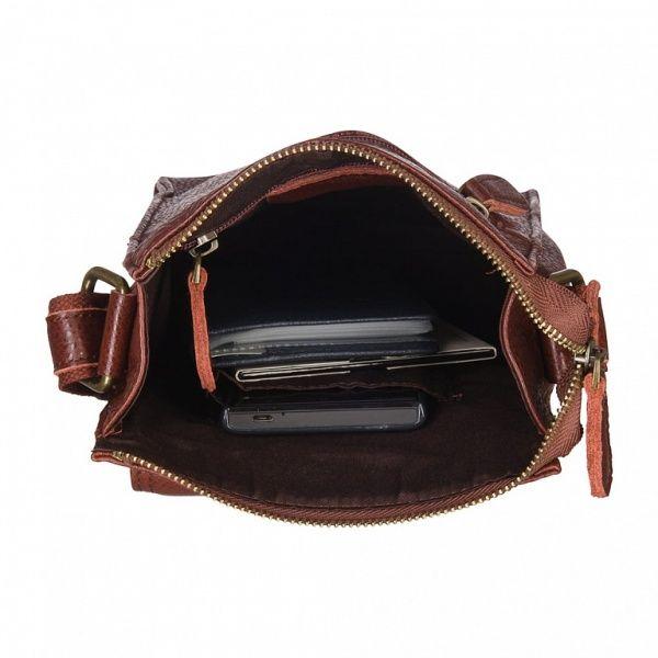 Др. Коффер ZD340-21-09 сумка через плечо 17x22x7см