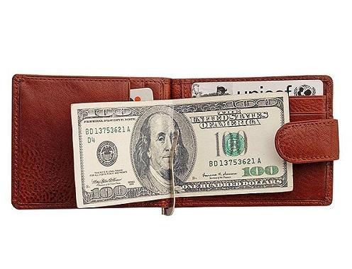 Др. Коффер X510199-02-05 зажим для денег 8,5х11,5см
