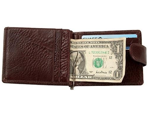 Др. Коффер X510199-02-09 зажим для денег 8,5х11,5см