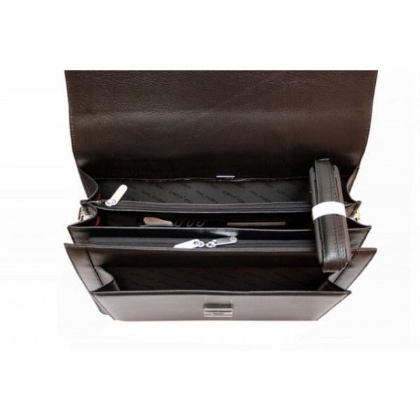 0145-45 Портфель KARYA 37,5*27*11см, черн.