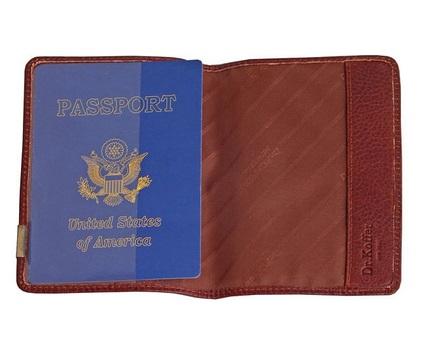 Др. Коффер X244512-02-05 обложка для паспорта 13х5х9,5см