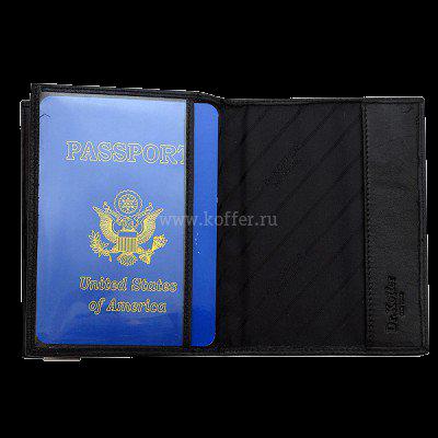 Др. Коффер X267880-01-04 обложка для паспорта 13,5х10см