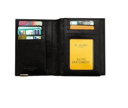 Др. Коффер X267880-02-04 обложка для паспорта 13,5х10см