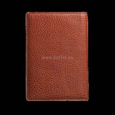 Др. Коффер X510130-02-05 обложка для паспорта 9,5х13,5см