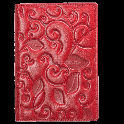 Др. Коффер X510130-119-03 обложка для паспорта 9,5х13,5см