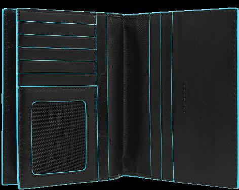 AS429B2/N Обложка для водительских прав и паспорта 14*10,5*3 черная