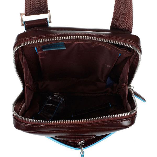 CA3084B2/MO Сумка вертикальная с плечевым ремнем 16*21*4,5 красно-коричневая