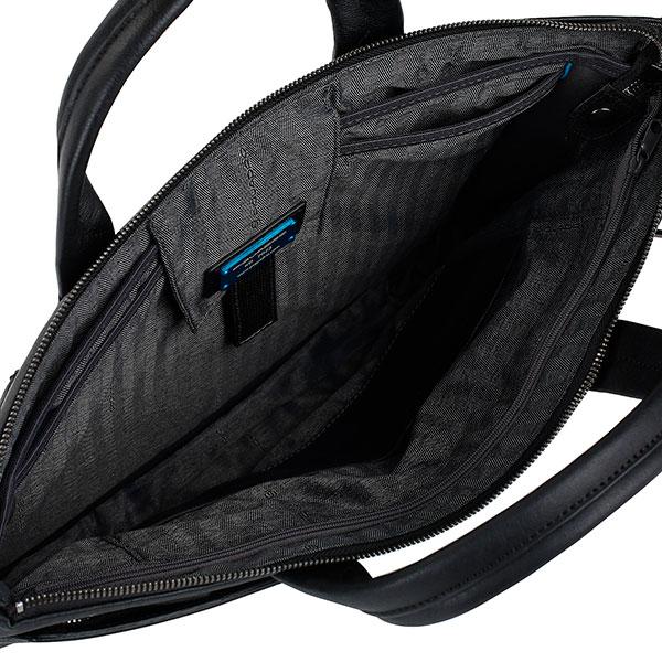 CA4021B3/N Сумка для ноутбука Piquadro Black Square  42*31*3 черная