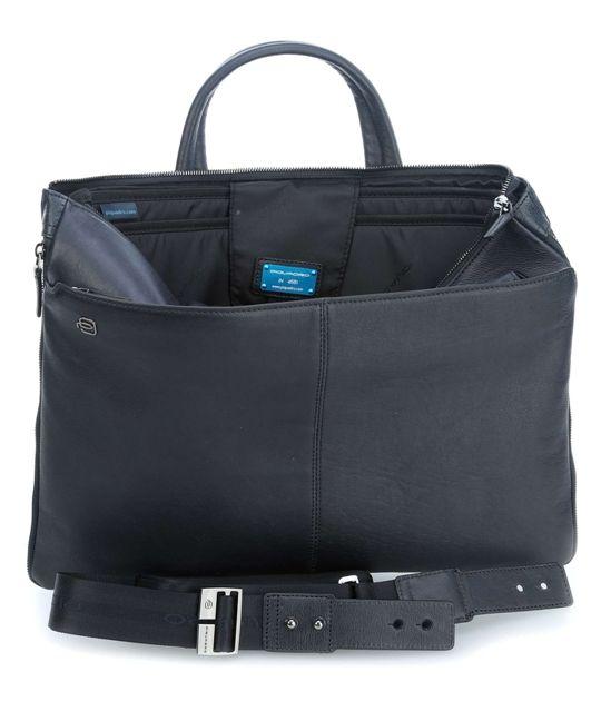 CA4021B2/BLU2 Сумка для ноутбука Piquadro Blue Square синий