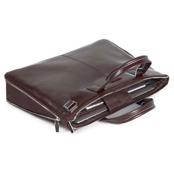 CA4021B2/MO Сумка для ноутбука Piquadro Blue Square 42x31x3 (10)см коричневый