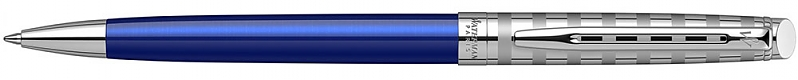 2117788 Ручка шариковая Waterman Hemisphere Delux Marine Blue M синие чернила подар.кор.