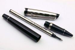 S0952340  Ручка-роллер Waterman Expert 3 Delux  Black CT F черные чернила подар.кор.