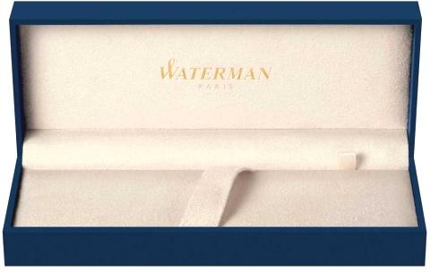 S0951980 Ручка-роллер Waterman Expert 3   Black Steel GT F черные чернила подар.кор.