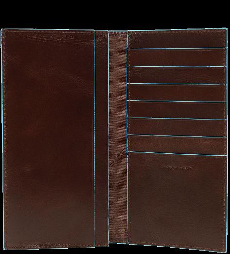 AS341B2/MO Портмоне с отделением для мелочи 18х9,5 красно-коричневое