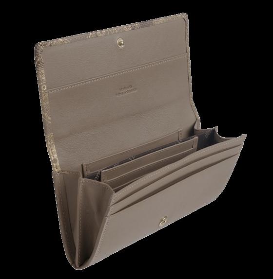 DM-P015-K424-5 Портмоне с отделением для карт Нотр-Дам беж