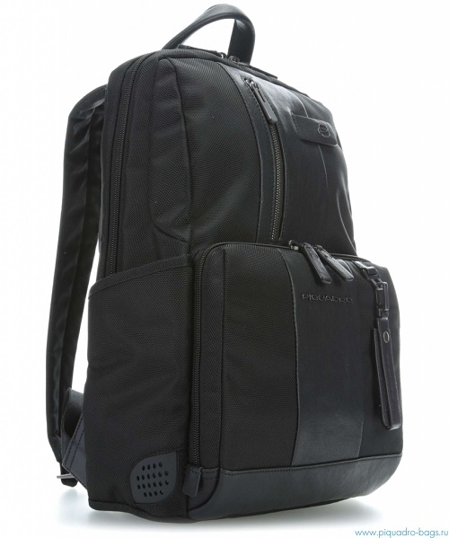CA3214BR/N Рюкзак Piquadro Brief 38,5x29x15см черный