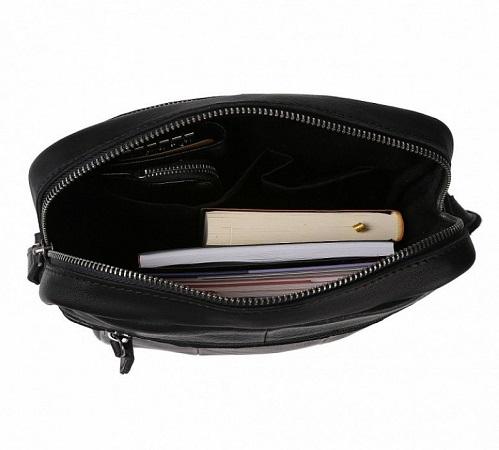Др. Коффер ZD-2064-21-04 сумка через плечо23х29х6см