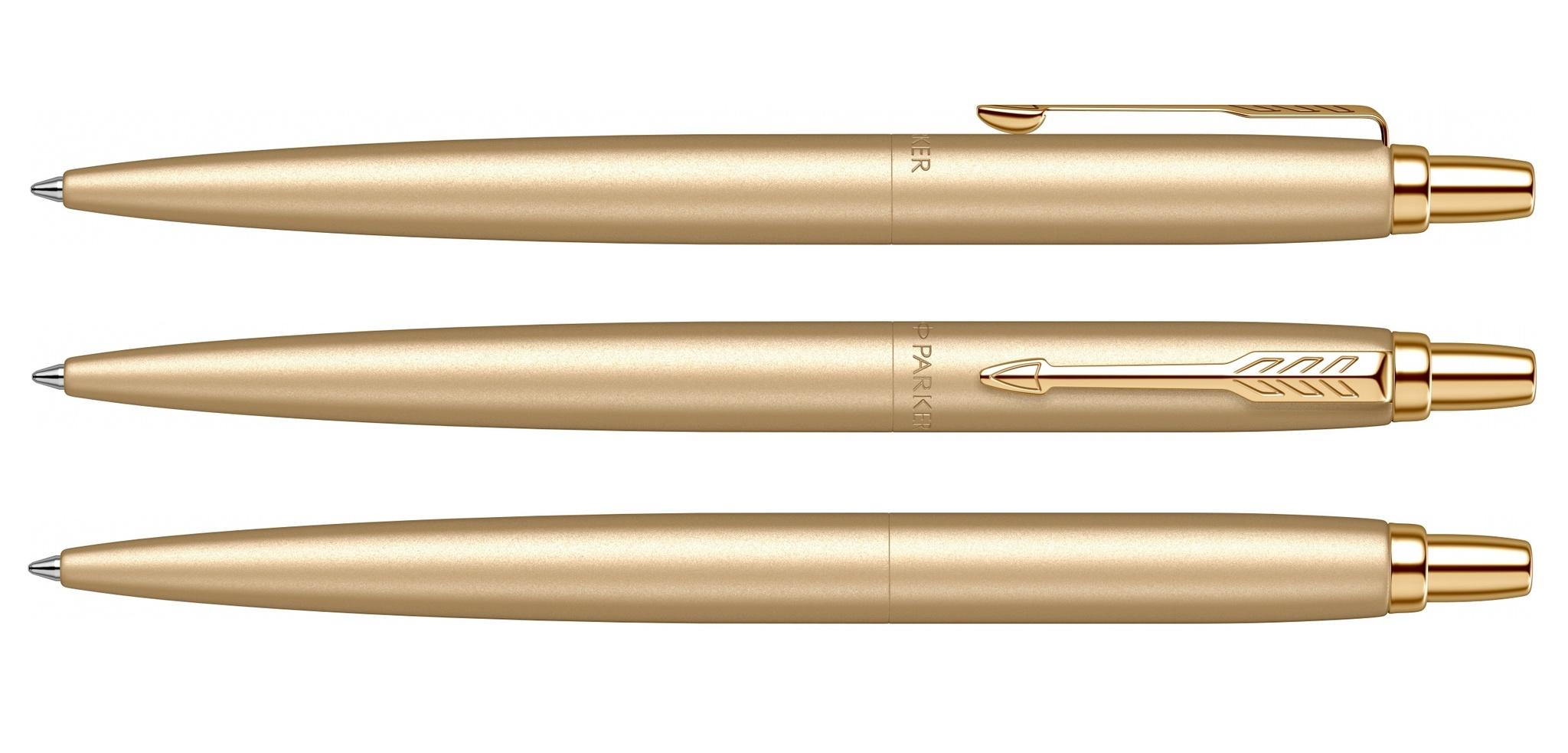 SE20 (2122754)  Ручка Parker Jotter Monochrome XL золотистый M синие чернила подар. упаковка