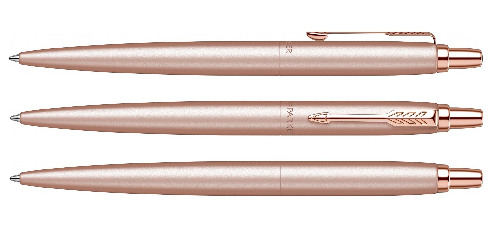 SE20 (2122755)  Ручка Parker Jotter Monochrome XL розовое золото M синие чернила подар. упаковка