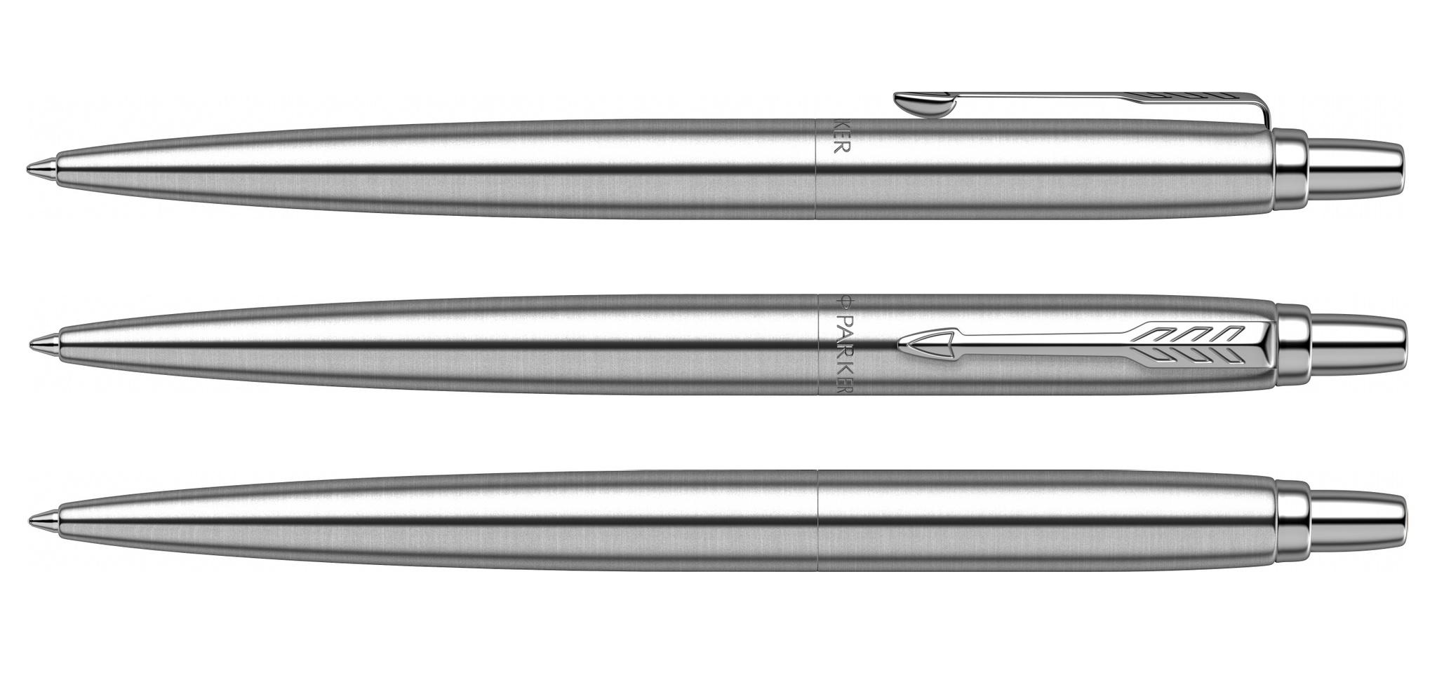 SE20 (2122756)  Ручка Parker Jotter Monochrome XL серый M синие чернила подар. упаковка
