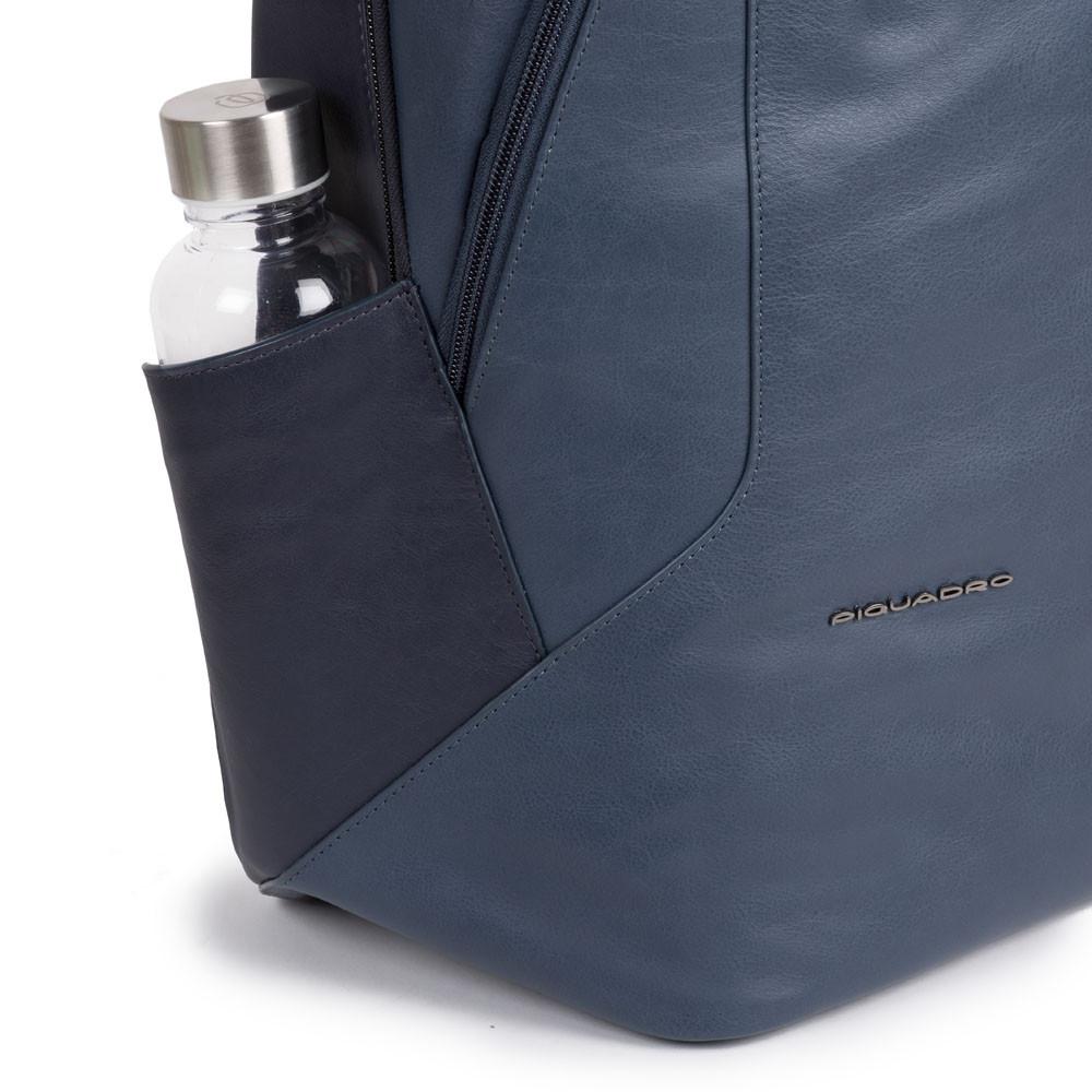 CA4980S104/BLU Рюкзак унисекс Piquadro Hakone  синий натур.кожа
