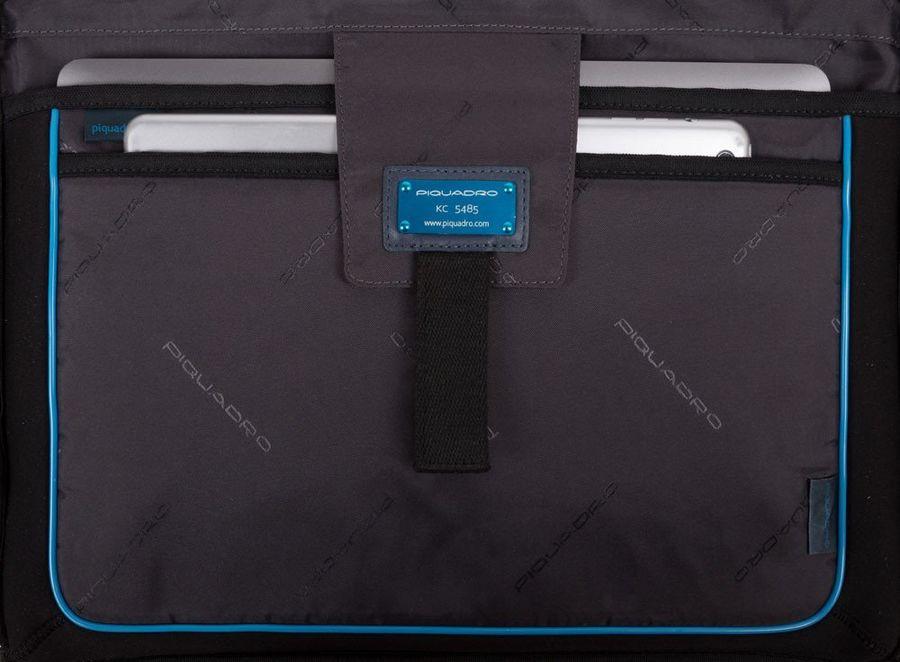 CA3335S104/BLU Сумка Piquadro Hakone  синий натур.кожа