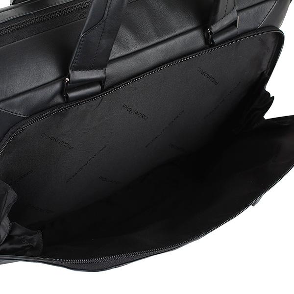 CA3335S104/N Сумка Piquadro Hakone  черный натур.кожа