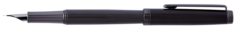 PC2304FP Ручка перьевая  Pierre Cardin Shein корпус латунь с лак. покрытием, латунь,оружейный хром