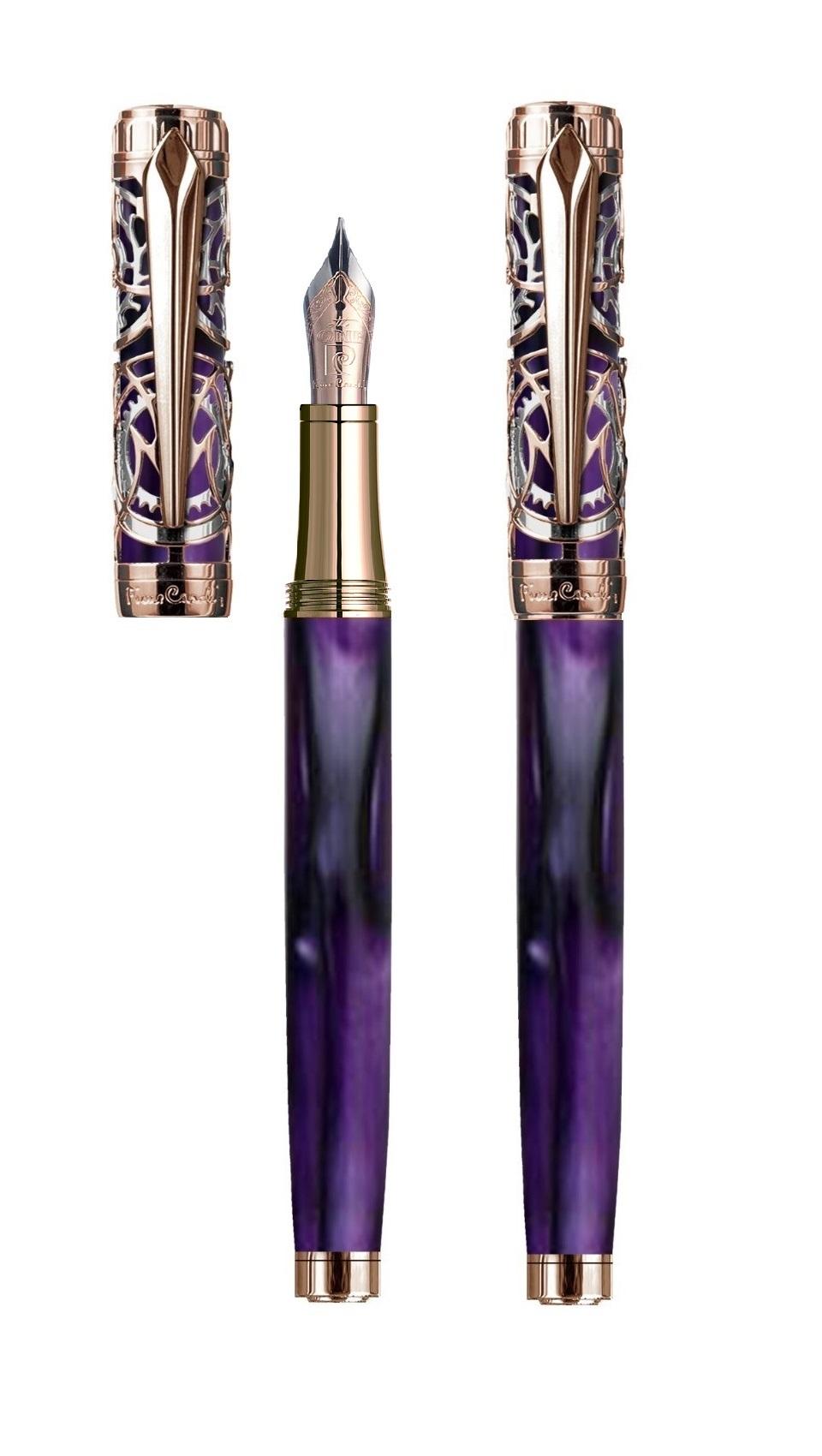 PC6613FP-A2 Ручка перьевая  Pierre Cardin Lesprit корпус латунь, акрил,сталь.