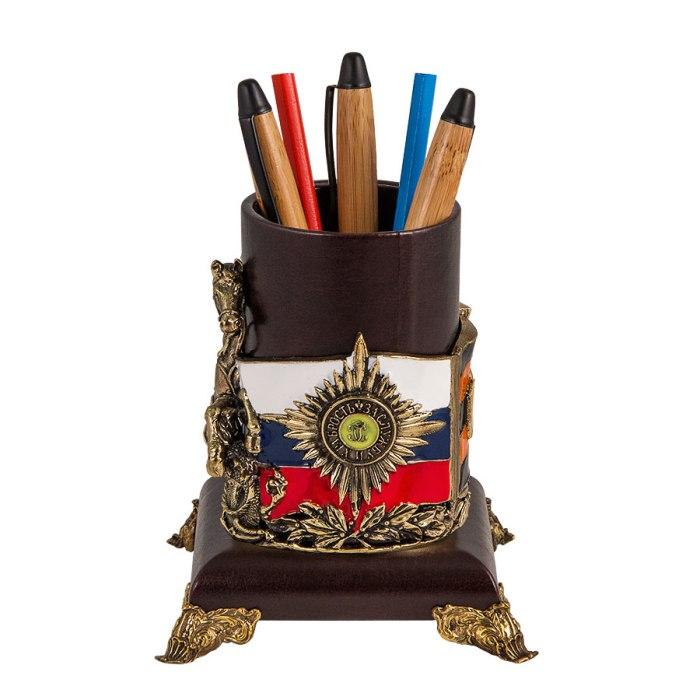 """Стакан для письменных принадлежностей """"Георгий"""" СПП-02Георгий"""