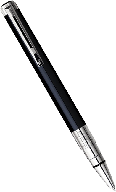 S0830760 Ручка шариковая Waterman Perspective Black CT