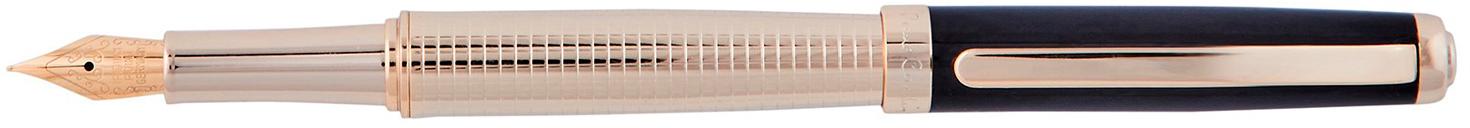 PC8112FP Ручка перьевая Pierre Cardin GOLDEN. Корпус-латунь с металл. и лак.покрытием, гравировка.