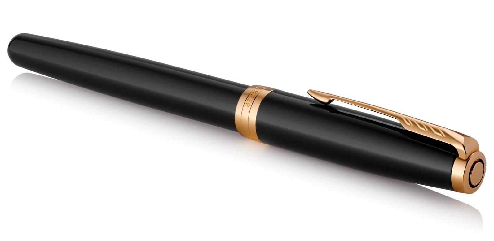 Набор Parker Sonnet GIFT 20 (2121991) Black GT ручка перьевая М черные  чернила
