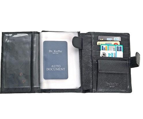 Др. Коффер X510275-02-04 портмоне с автодокументами 14х10см