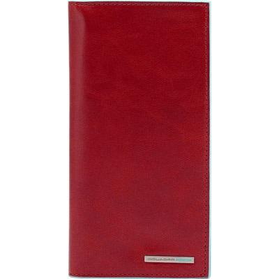 AS341B2/R Портмоне с отделением для мелочи 18*9,5 красное
