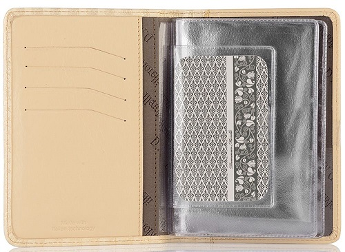 DM-B001-PT109 Бумажник водителя Палермо золото