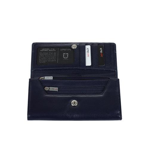 1060-1 Портмоне KARYA 18*9,5*3 см. черн.